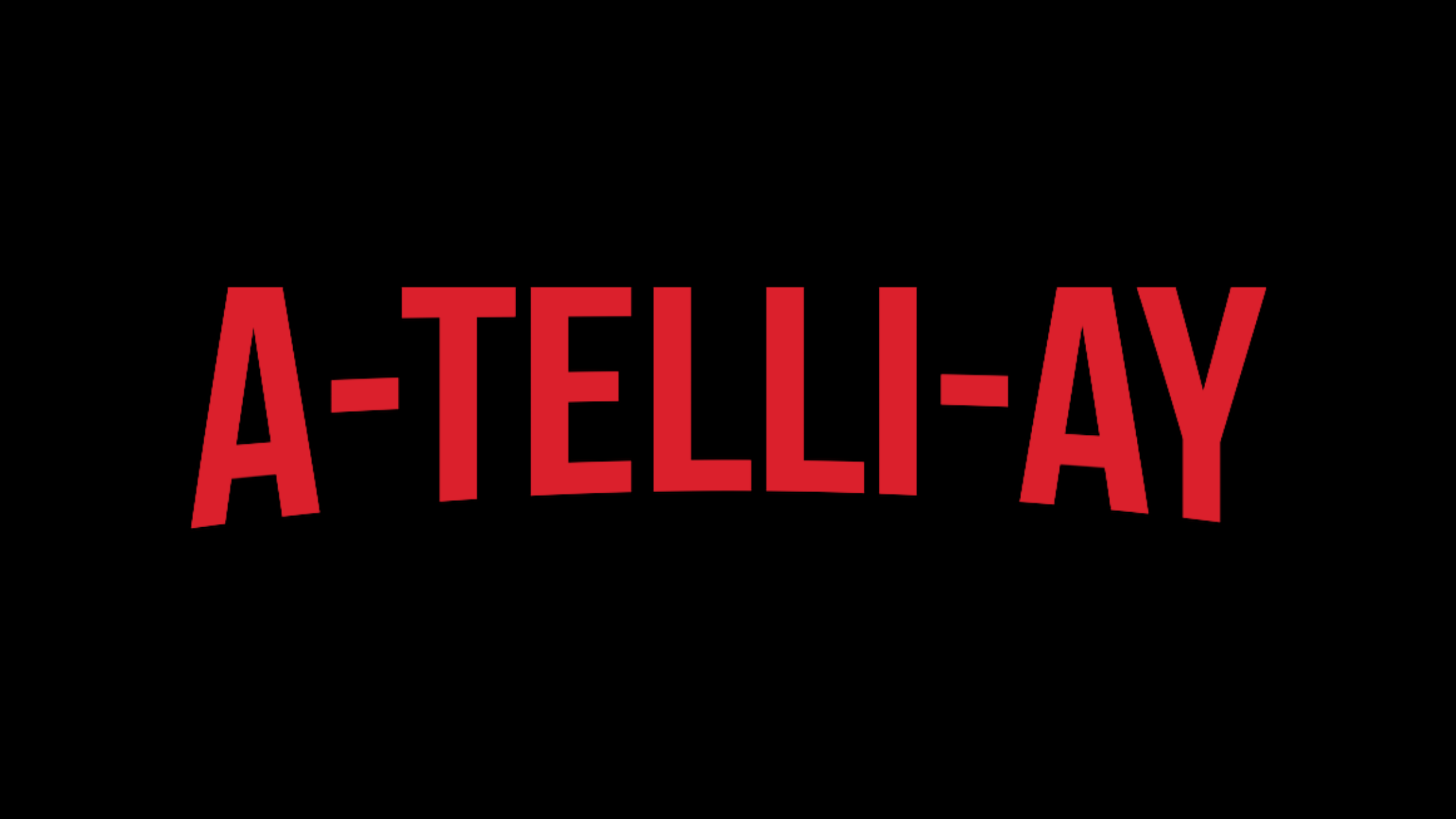 Text shows the pronunciation of 'Atelier': a-telli-ay